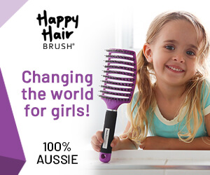 Happy Hair Brush Advertisement