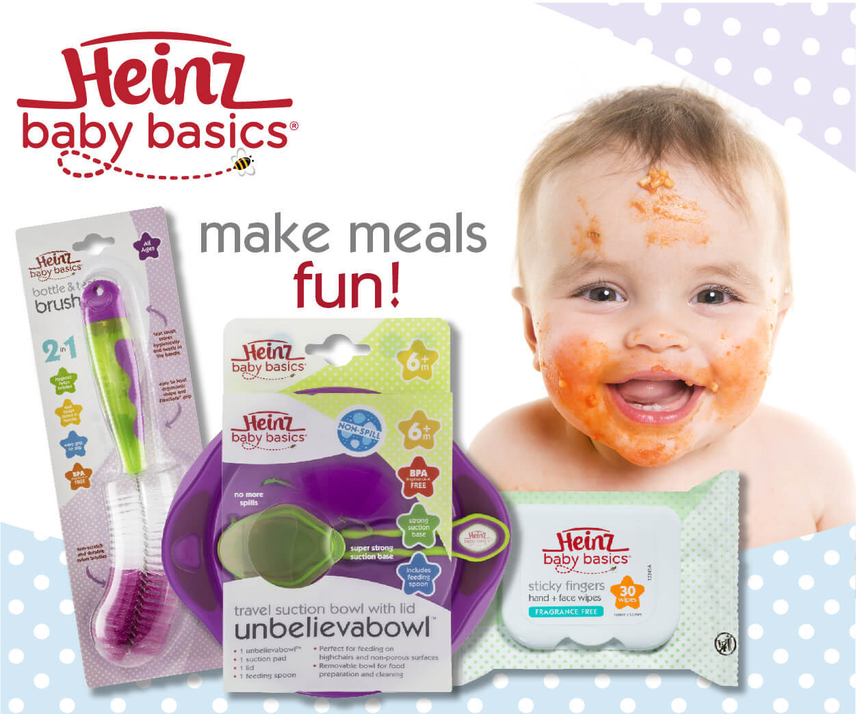 Heinz Baby Basics Advertisement