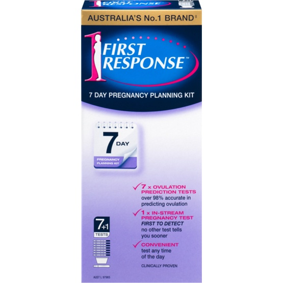 First Response 7 Day Pregnancy Planning Kit 7+1 Pack