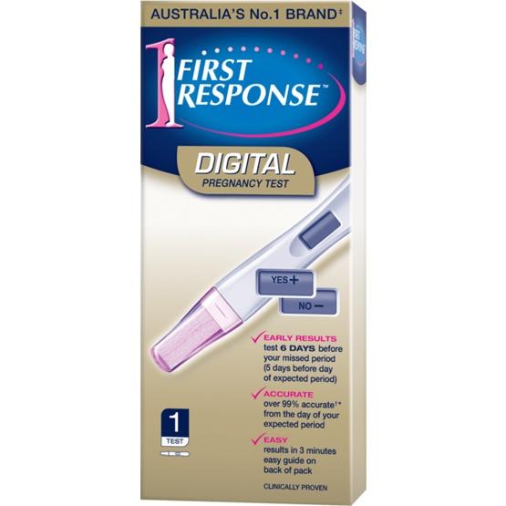 First Response Digital Pregnancy Test 1-Pack
