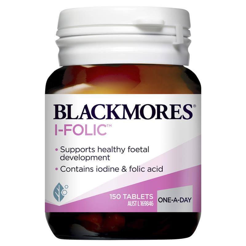Blackmores I-Folic 150 tablets bottle