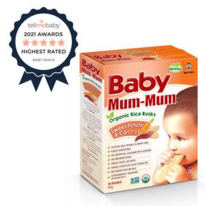 Baby Mum-Mum Organic Rice Rusks