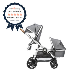 Babybee ROVER 2019 2-in-1 Bassinet + Stroller Set